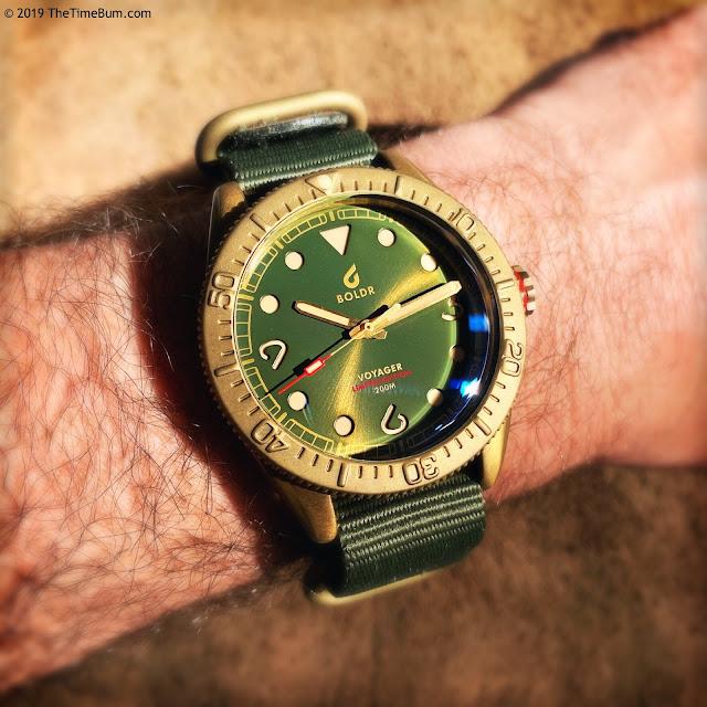 BOLDR Voyager Macau wrist