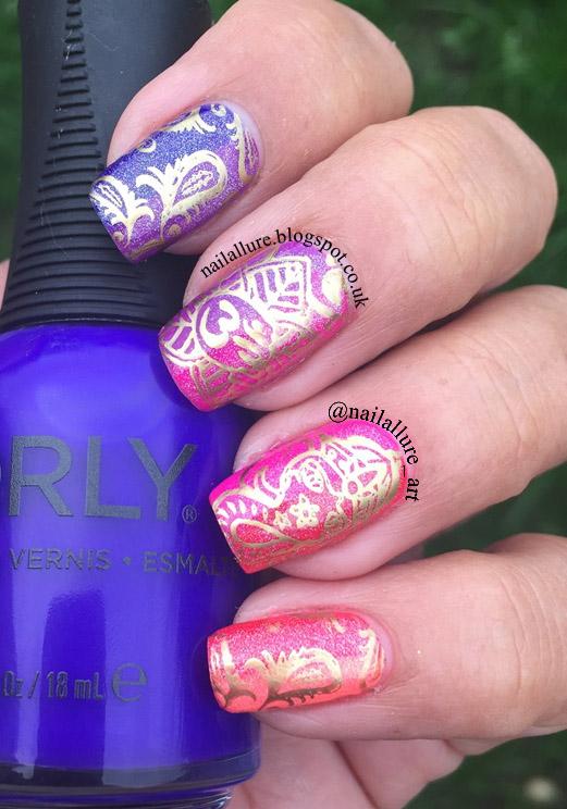My Nail Files Colourful Diwali Manicure