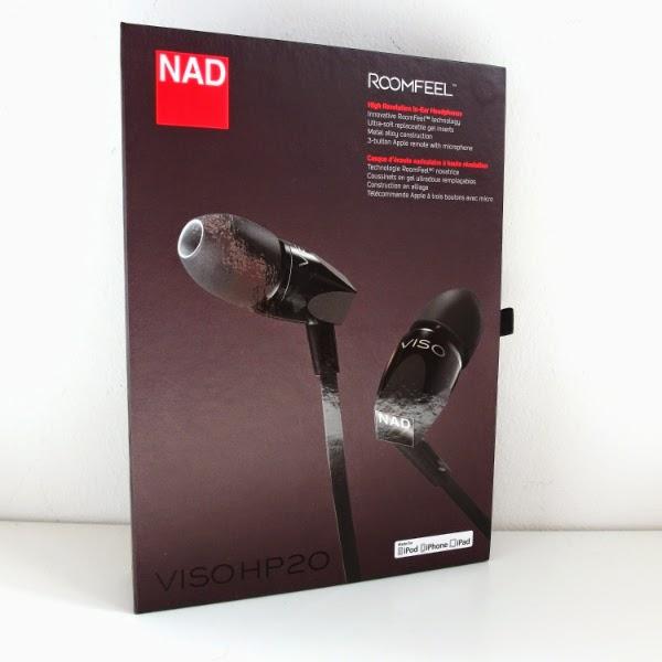 REVIEW: NAD Viso HP20 In-Ear Headphones