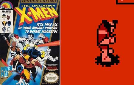 Primera vez que vemos a Wolverine en un videojuego, en 1989