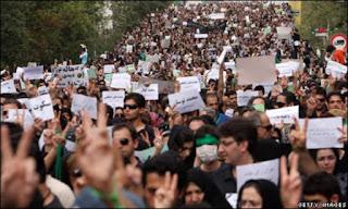 Lebih 1.000 Demonstran Iran Ditahan dan Diancam Hukuman Mati
