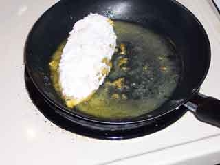 Poulet de Moutarde cook chicken