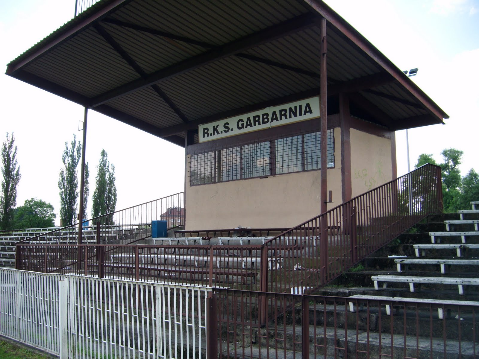 My Football Travels: Stadion Garbarni (Garbarnia Kraków)