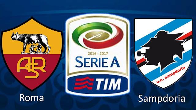Roma Sampdoria 1-2 Serie A 11/09/16 highlights primo tempo
