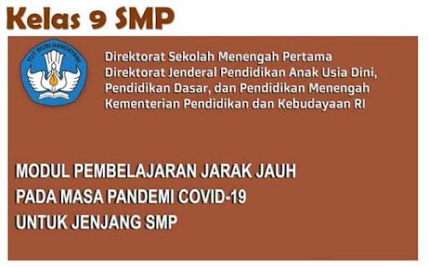 Modul PJJ Semester Genap kelas 9 Direktorat SMP Kemdikbud