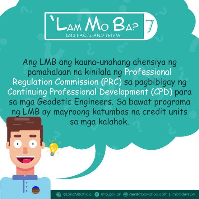 continuing professional development para sa mga geodetic engineers