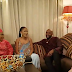 Banky W and Adesua Etomi pictured on set of TWP2