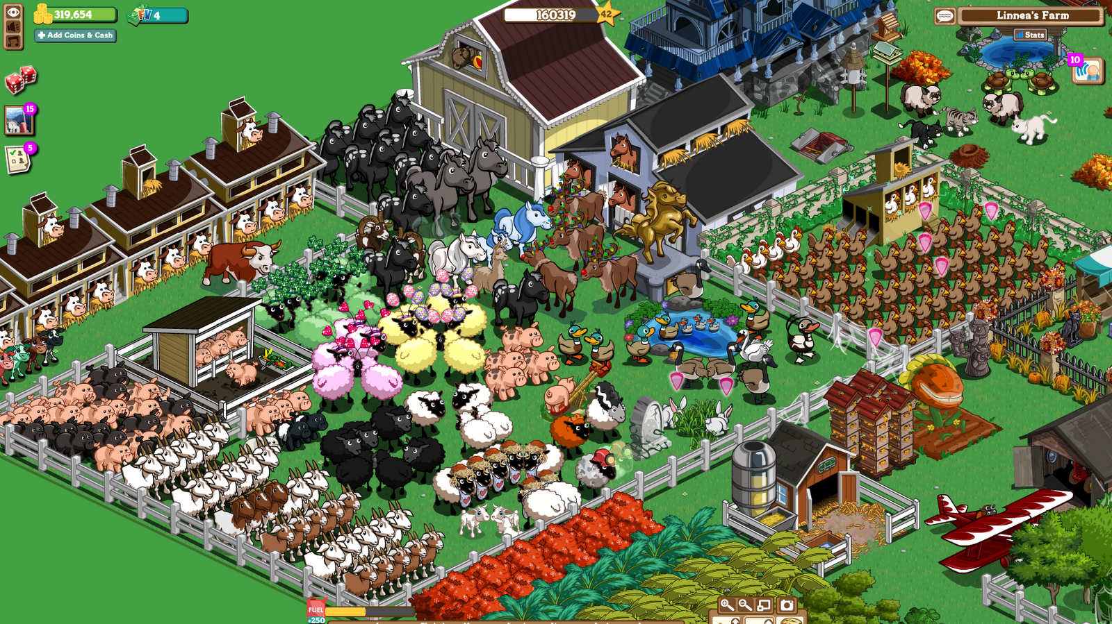Play Game Farmville Zynga Facebook
