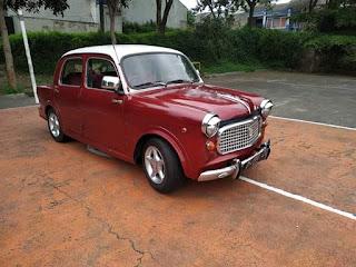 Jual Mobil Antik FIAT 1100cc Pintu Kupu2