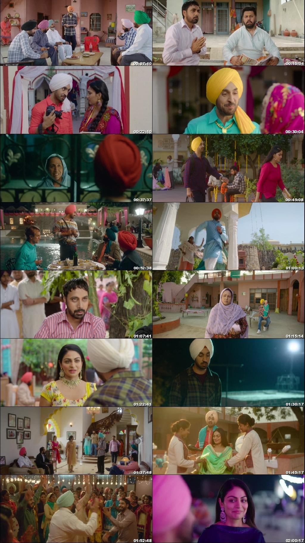 Screen Shot Of Shadaa 2019 300MB HDRip 480P Full Punjabi Movie Watch Online Free Download