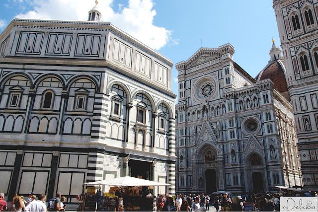 katedra we florencji, baptysterium, florencja, firenze, santa maria del fiore