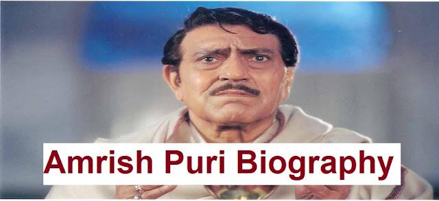 Amrish Puri biography