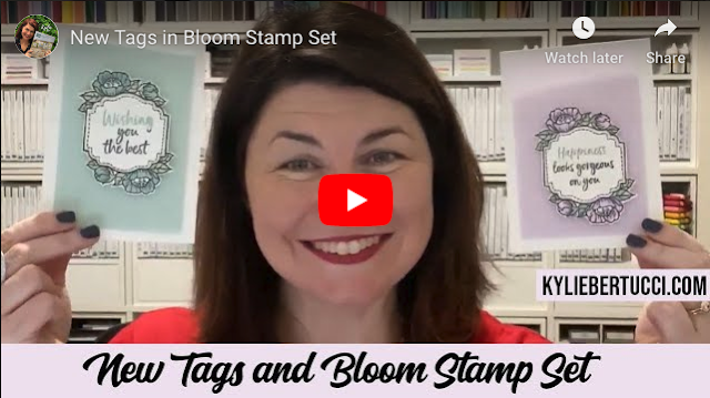 VIDEO: Tags in Bloom Stamp Set and So Very Vellum