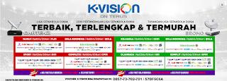 Cara Memasukkan Biss Key K Vision 2016