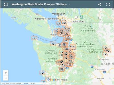 map of pumpout stations