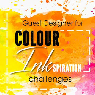 Jo's Stamping Spot - Colour INKspiration Challenge #CI80