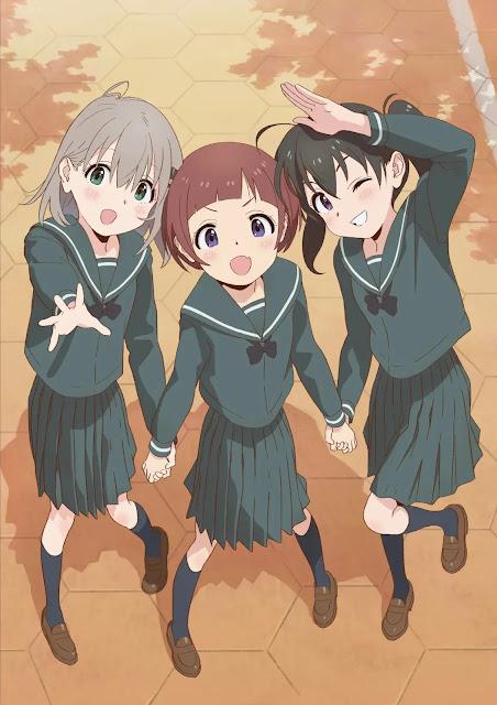 Anime 'Yama no Susume: Next Summit' confirma estreia para 2022