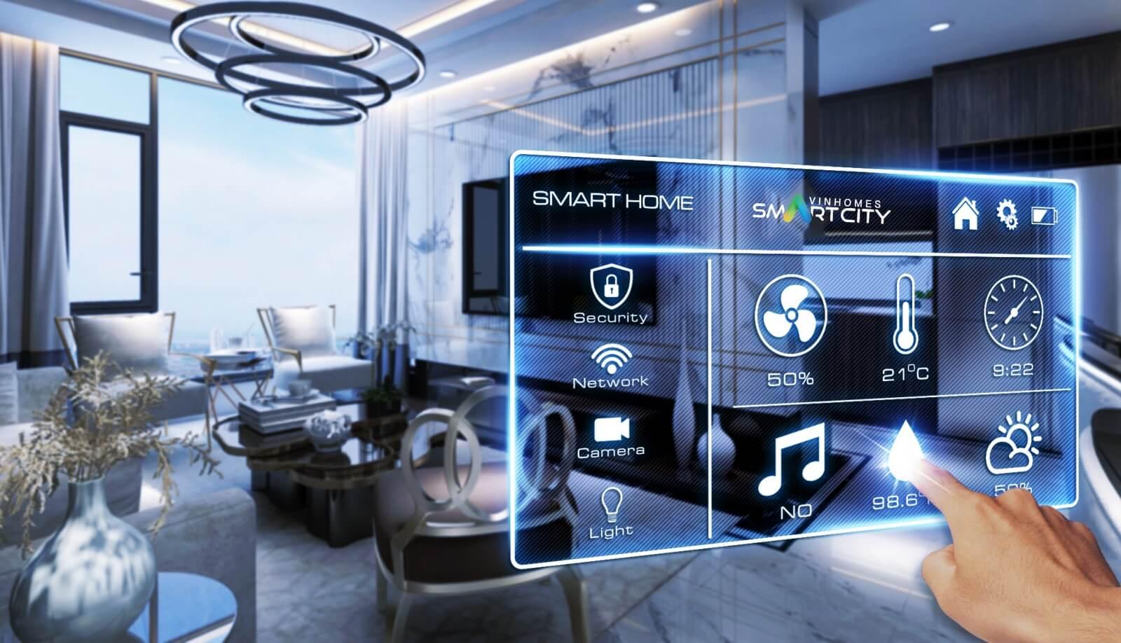 Vinhomes Smart City ứng dụng nhiều công nghệ hiện đại