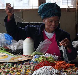 Ileke or Jigida Yoruba African waist beads symbolize body sculpting, sexuality, and femininity.