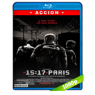 15:17 Tren a París (2018) BRRip 1080p Audio Latino-Ingles