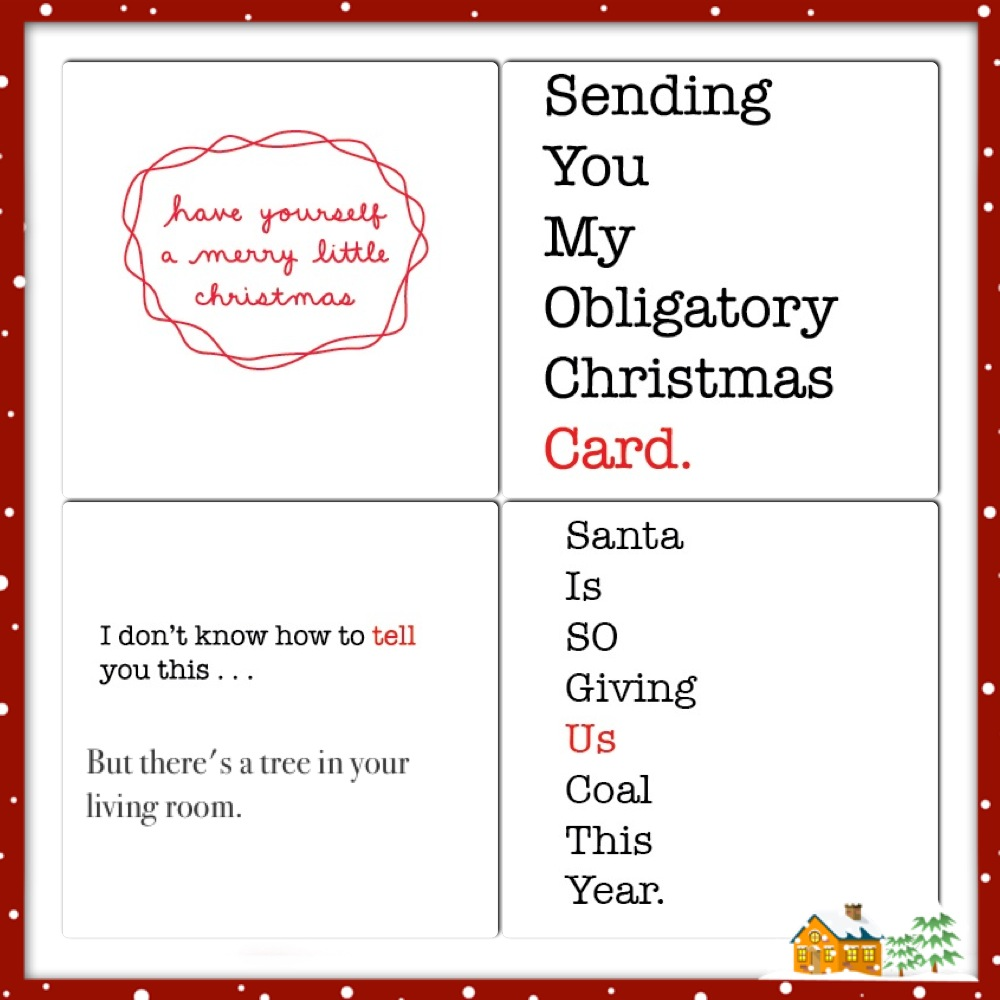 collage Simplified Holiday Cards #OpenMeHolida #PMedia #ad 19