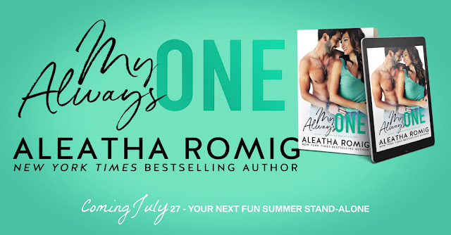 Cover Reveal:  My Always One by Aleatha Romig