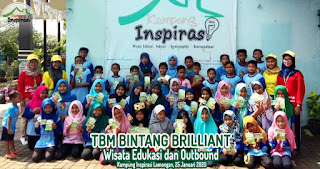 Belajar dan Bermain di Kampung Inspirasi Lamongan