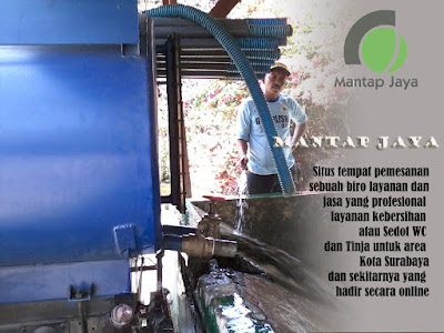 Jasa Tinja dan sedot wc Dinoyo Surabaya murah