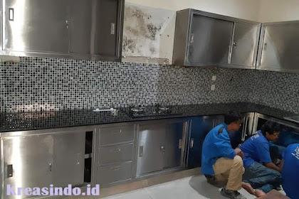 Daftar Harga Sink Stainless atau Cucian Stainless dan Kitchen Set Stainless