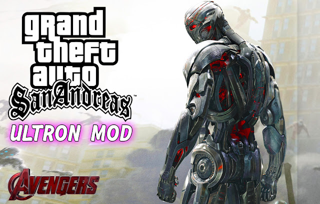 Ultron Mod With Powers For GTA San Andreas