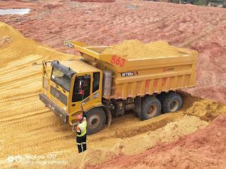 xe ben mỏ LGMG 2