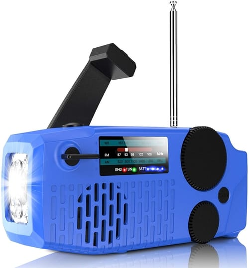 Geartist Radio Submarine 1 Solar Emergency Weather