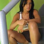 Andrea Rincon – Selena Spice – Sexy Top Blanco y Tanga Negra Foto 77