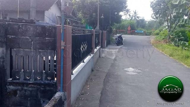 Rumah di jalan Pamungkas dekat Kampus UII