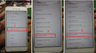 how to remove account google xiaomi redmi 4x / 5a / note 5