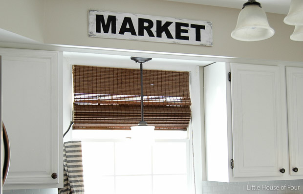 Easy DIY Market sign