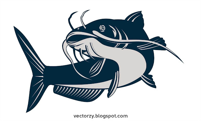 Download Vektor Ikan Lele / Catfish Gratis CDR Coreldraw