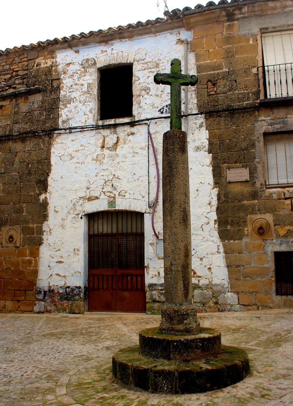 Plaza de la Cruz Verde de Baeza-Jaén