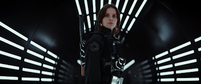 Rogue One A Star Wars Story Movie Still featuring Felicity Jones (31)