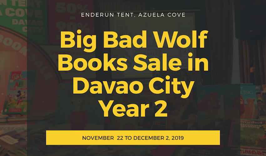 The Big Bad Wolf Books Sale in Davao Year 2