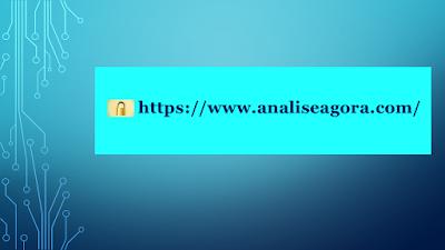 A imagem de fundo azul e os caracteres em preto mostram a barra de pesquisa na internet e mostra o cadeado com o https que significa que o site é seguro e os internautas podem navegar e fazer suas buscas com um pouco de segurança na web.