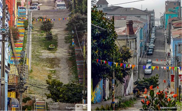 Ladeiras de Valparaíso, Chile