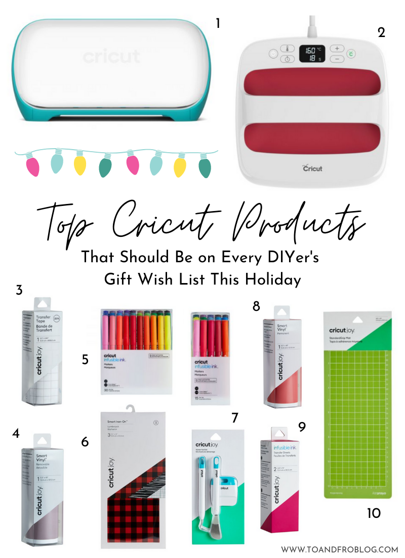 Top Cricut Products That Should Be on Every DIYer's Gift Wish List This Holiday