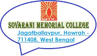Sovarani Memorial College, Jagatballavpur, Howrah - 711408, West Bengal