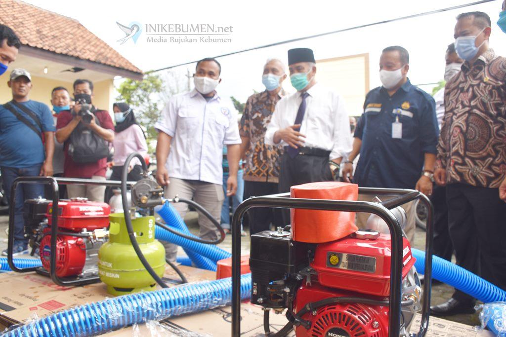 Hemat BBM, Petani Kebumen Mulai Konversi Gas Elpiji untuk Mesin Pompa Air
