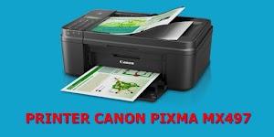 Cara Fotocopy Ukuran Kertas F4 Pada Canon Pixma MX497