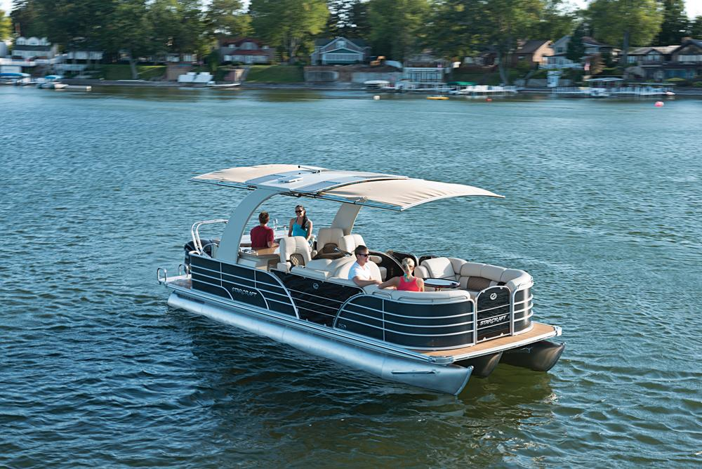 Best Pontoon Boat Accessories for Updating Deck Comfort and Fun   My     Pontoon boats are designed for convenience and comfort on the boat deck and  can be even more comfortable with the addition of some simple accessories