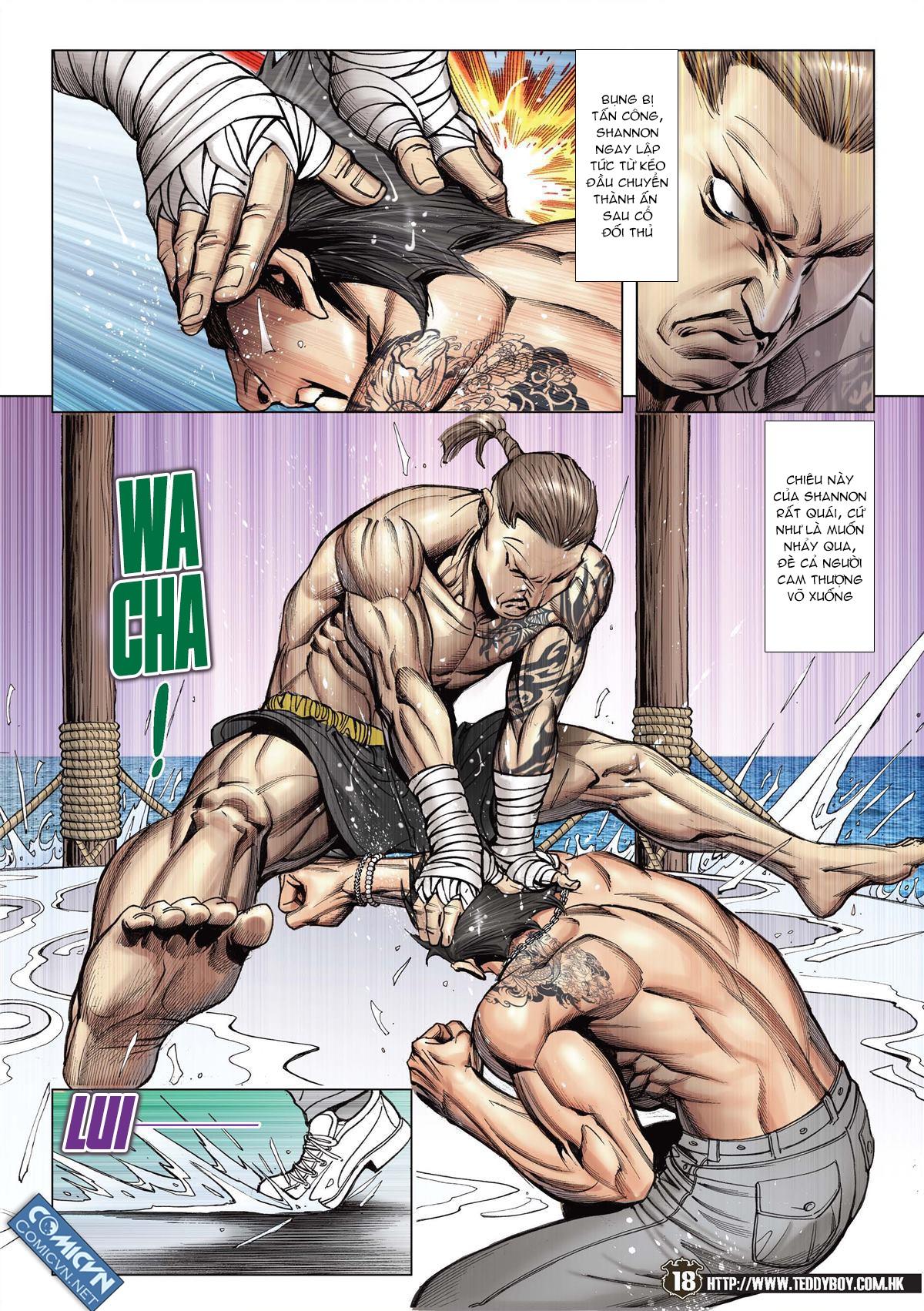 Người Trong Giang Hồ chapter 2143: ác chiến vua muay thai trang 16