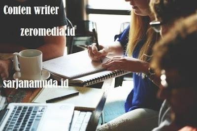 Dapatkan Income Menulis di zeromedia.id
