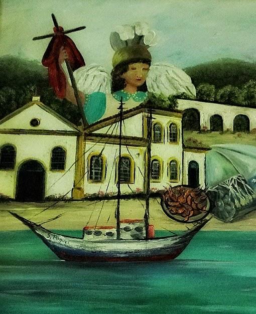 Conjunto arquitetônico do Balneário São Miguel, em Biguaçu